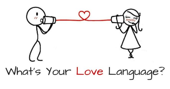 What's your love language